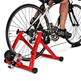【Indoor Bike Trainers】: One of the problems with cycling, though, is that when the weather gets bad, conditions can keep you off the road or trail. Maybe it is raining or is too windy outside, or perhaps you need to avoid rush hour traffic or an unsa...