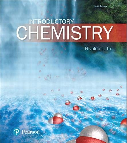 Compare Textbook Prices for Introductory Chemistry MasteringChemistry 6 Edition ISBN 9780134302386 by Tro, Nivaldo