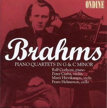 Brahms: Piano Quartets Nos. 1 &3