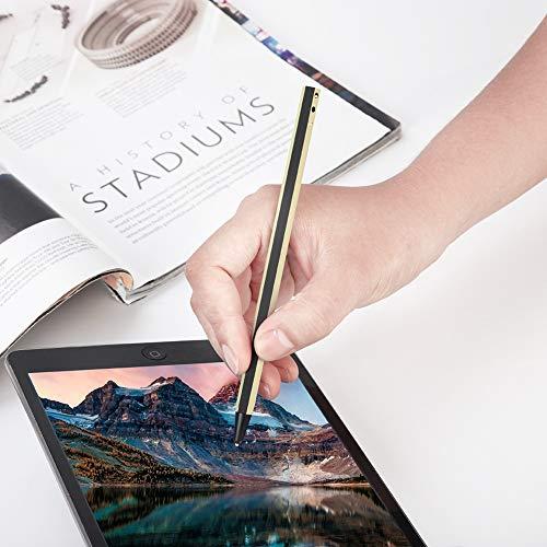 Bewinner Hochempfindlicher Druckstift, Kapazitiver Stift für Touchscreen, Ersatz für aktiven Stift, Grafiktabletts, Professioneller Stift, Universal-Touch-Stift