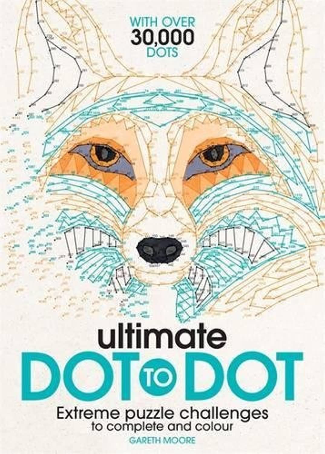 3X Ultimate Dot to Dot  Extreme Puzzle Chtuttienges to completare e Colour