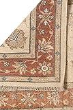 Rug Centre Teppich, handgefertigt, königlicher Ziegler-Teppich, klassisches Design, handgeknüpft, Afghanischer Wollteppich, Beige, Orange, 305 x 85 cm - 4