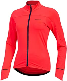 Pearl iZUMi Women's Attack Thermal Cycling Jersey, Atomic Red, Medium