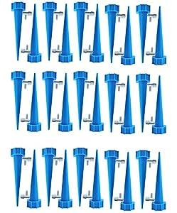 ZoneYan Riego Goteo Botella, Riego Bonsais De Interior, Irrigación para Jardín Bonsáis, 30 Pcs Riego por Goteo Automático Kit, Irrigación para Bonsáis