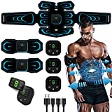 Ben Belle Abs Stimulator, Muscle Toner, Abs Stimulating Belt, Abdominal Toner- Training Device for Muscles- USB Rechargeable Wireless Portable Gym Device- Muscle Sculpting at Home- Fitness Equipment