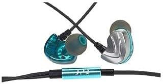 【Q-music QE50】耳掛け式カナル型イヤホン ハイブリッドドライバー2基搭載 収納ケース付属