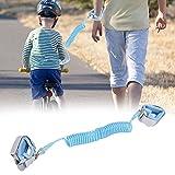 Correa de muñeca de seguridad, arnés de correa para niños suave y agradable para la piel para niños para niños(blue)