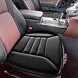 Big Hippo Orthopädisches Sitzkissen Auto - Memory Foam Sitzauflage Auto Autositzkissen Stuhlkissen Sitz Kissen Geeignet für Auto, LKW, Bürostuhl und Alle Stühle (Schwarz-1 Stück)