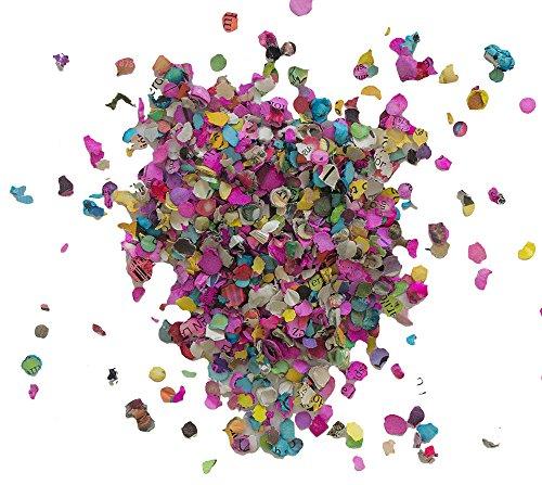 Multicolored Mexican 17.6 Oz Jumbo Confetti Bag- Multicolor All Kind of Celebrations Ecological and Naturally Dyed - Fiesta Confetti - Confetti toss - Confetti foil - Confetti Mexicano