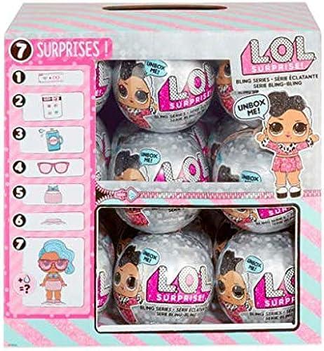 suministro directo de los fabricantes L.O.L. Surprise  Bling Series - - - Bulto con 18 x Bolas Sorpresa  tienda de venta