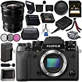 Fujifilm X-T2 Mirrorless Digital Camera (Body Only) 16519247 + Fujifilm XF 10-24mm f/4 R OIS Lens 16412188 Bundle