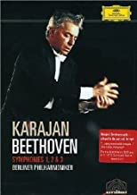 Beethoven - Symphonies 1, 2, 3 / Herbert von Karajan, Berlin Philharmoniker
