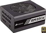 Corsair RM850x Alimentatore PC, Completamente Modulare, 80 Plus Gold, 850 Watt, EU, Serie RMX, Nero
