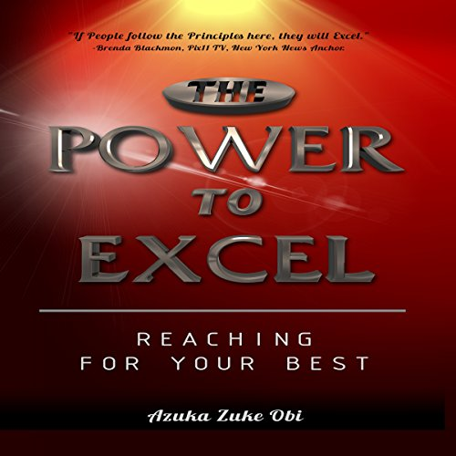 The Power to Excel audiobook cover art