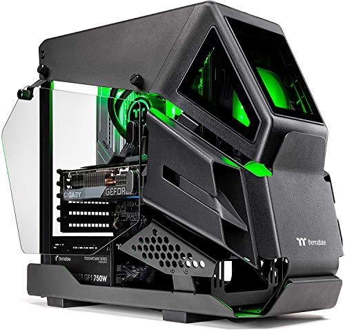 Thermaltake LCGS AH-380 AIO Liquid Cooled Gaming PC (AMD Ryzen 9 3900X 12-core, ToughRam DDR4 3600Mhz 16GB RGB, NVIDIA GeForce RTX 3080, 1TB NVMe Gen4 M.2, Wifi, Win 10 Home) AHB2-B550-A38-LCS