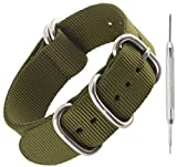 Heavy Duty Nylon NATO Watch Strap by Sniper Bay® Straps | Military Style