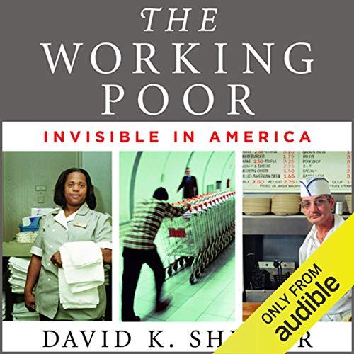 The Working Poor audiobook cover art