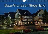 Blaue Stunde im Siegerland (Wandkalender 2022 DIN A4 quer): Rundreise durch das Siegerland (Monatskalender, 14 Seiten )