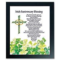 アイルランド結婚記念Blessingデラックス額入りプリント