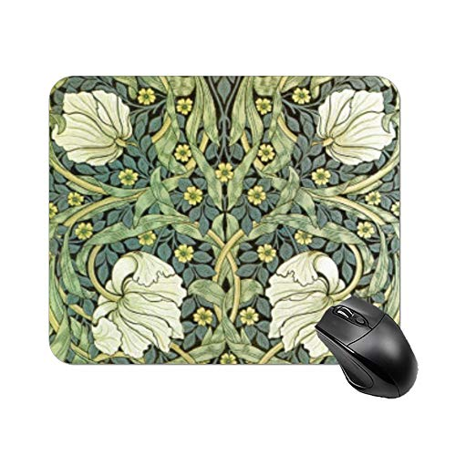 Yilooom Pimpernel by William Morris Mouse Pad Rectangle Non Slip Rubber Mousepad Gaming Mouse Pad 9'x7'