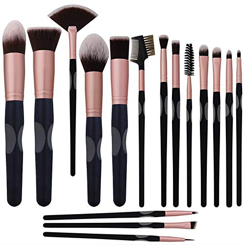 M-Y-L Ensemble de 16 pinceaux de Maquillage Fard à Joues Pinceau de Maquillage Eye Shadow Groove Maquillage Beauté