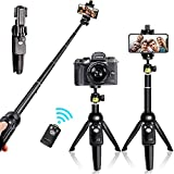 Best Selfie Sticks - Selfie Stick Tripod Bluetooth, 40 Inch Extendable Flexible Review