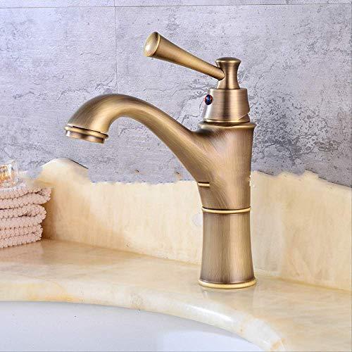 Gebürstetes Badezimmer antik Antikes Kupfer,Küchenarmatur,Wasserhahn Küche, Einhand-Spültischbatterie mit herausziehbarer Spülbrause chrom, Schwenkbereich 360°,100% Blei- und Nickelfrei Küchen- Spül