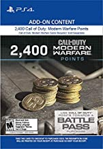 2,400 Call of Duty: Modern Warfare Points - PS4 [Digital Code]