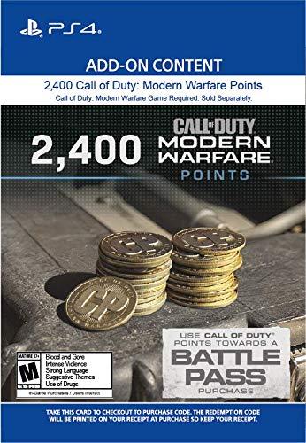 2,400 Call of Duty: Modern Warfare Points - PS4 [Digital Code]