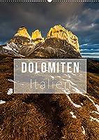 Dolomiten. Italien (Wandkalender 2022 DIN A2 hoch): Die herrlichsten Ansichten der Dolomiten (Monatskalender, 14 Seiten )