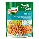 Knorr Fiesta Sides For an Easy Meal with Authentic Taco Flavor Taco Rice No Artificial Flavors 5.4 oz