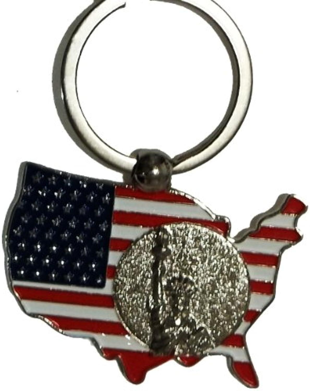 New York Schlüsselanhänger – Metall Silber Silber Silber Farbe, USA, Statue of Liberty, New York City Souvenirs B00AP9H8K6   Zahlreiche In Vielfalt  5af30a