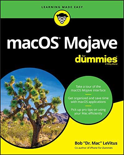 macOS Mojave For Dummies (English Edition)