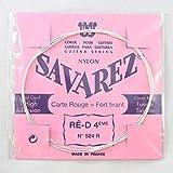 Savarez - Cuerda para guitarra clásica Traditional Concert 524R, solo cuerda D4w estándar, se adapta al juego de cuerdas 520F, 520P, 520R, 520P1, 520P3