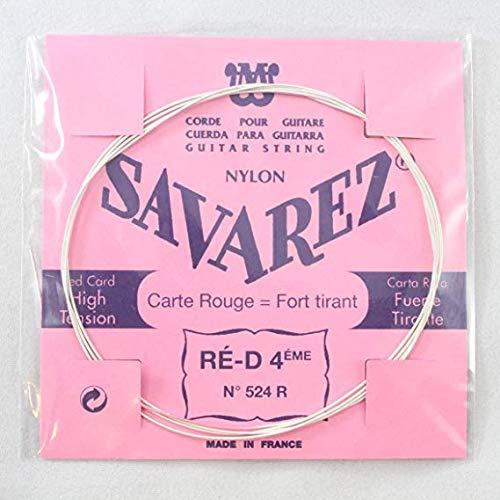 Savarez Saiten für Klassik-Gitarre Traditional Concert 524R Einzelsaite - D4w standard - passend zum Satz 520F, 520P, 520R, 520P1, 520P3