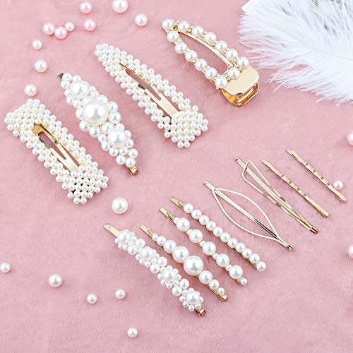 Makone -  Perle Haarspange-12