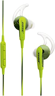 Bose SoundSport In-Ear Headphones For Apple Devices (741776-0030) - Energy Green (Renewed)