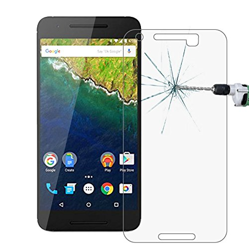 Nueva Tangyong for Google Nexus 6P 0.26mm 9H + Dureza Superficial 2.5D...