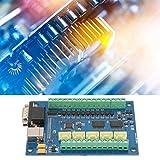 Jadpes Juego de Tarjeta de Control programable, Tarjeta de Control USB 5 Axle 100K para Mach3 +3 pcs TB6600 Driver Board CNC Motion Control Set