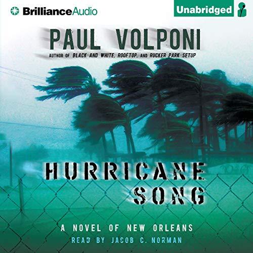 Hurricane Song audiobook cover art
