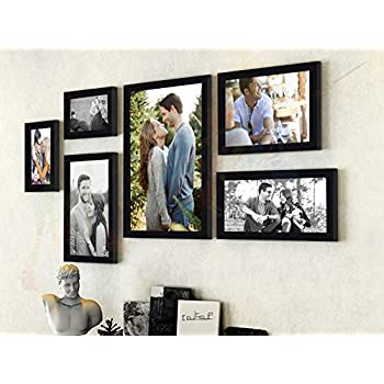 Painting Mantra Art Street - Triumphet Set Of 6 Individual Photo Frames/ Wall Hanging (Mix Size -10X12, 6X10, 6X8, 4X6