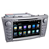 Camry Car Stereo DVD Player-Double Din in-Dash, Multimedia Receiver with Touchscreen, Built-in Bluetooth, MP3 Player, GPS Navigation, SD, AUX Input, Radio Receiver (Android 10.0)…