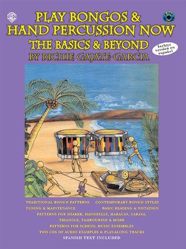 Alfred Publishing 00-0637B Juego Bongos & Hand Percussion Ahora: Funciones b-sicas & Beyond - Music Book