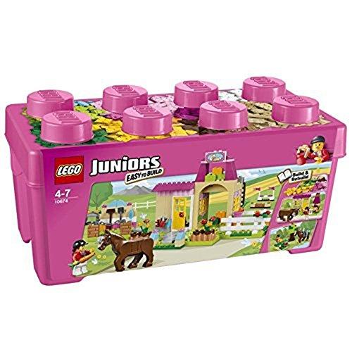 LEGO Juniors 10674 - Große Steinebox Mädchen Ponyhof