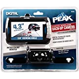 PEAK Digital Wireless Back-Up Camera, Color LCD Monitor, 4.3-inch