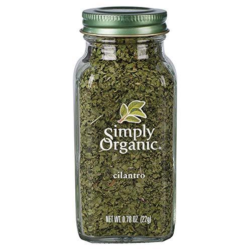 Simply Organic Cilantro Leaf, Cut & Sifted, Certified Organic | 0.78 oz | Coriandrum sativum L.