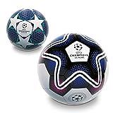 Mondo Mondo-13845 Toys-Pallone da Calcio da Uomo-UEFA Champions League-Size 5-350 Bianco/Nero/Blu-13845,...