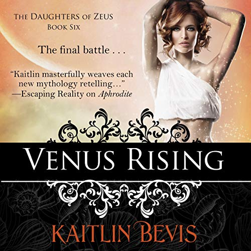 Venus Rising audiobook cover art