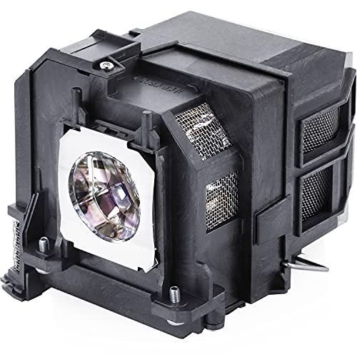 Aimdio lámpara de Repuesto para EPSON Proyector ELPLP80 ELPLP79 EB-580 EB-570 EB-585W EB-575W EB-575Wi EB-585Wi EB-595Wi EB-1420Wi Powerlite 580 585W 595Wi 585Wi BrightLink 585Wi 595Wi Pro 1430Wi