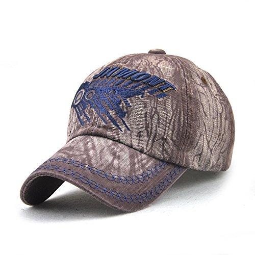 Gorra de béisbol de algodón Gorra de Lavado de Comercio Exterior Europeo y Americano Sombrero de Corona de Sol Bordado con Letras para Hombres